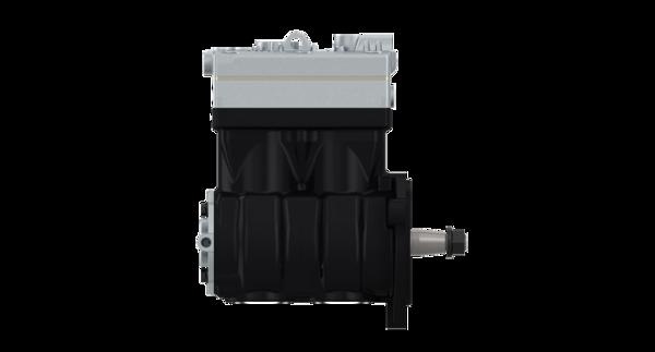 Twin-Cylinder compressor, flange mounted