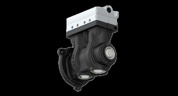 Twin-Cylinder compressor, 636 cc, flange mounted