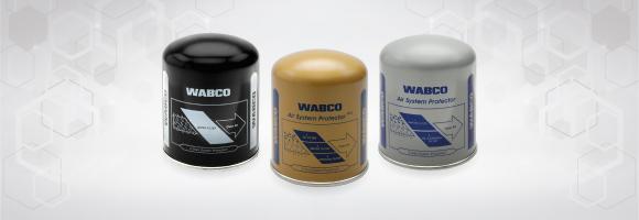 Os filtros para secador de ar WABCO oferecem a proteção mais confiável do mercado para sistemas de freio a ar